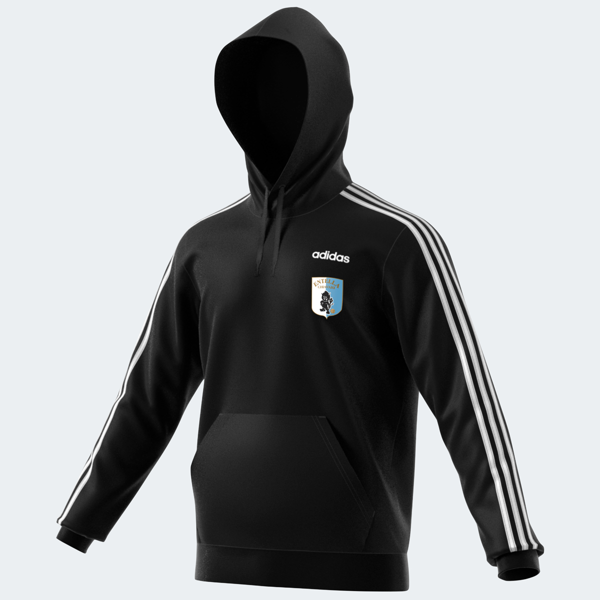 "FELPA ADIDAS ""3S"" NERO - Virtus Entella Store"