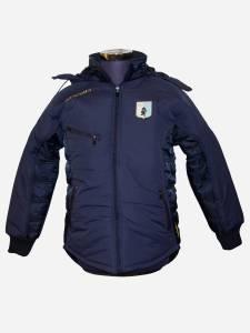 Giaccone diadema winter jacket BOMBER 100% POLIESTERE elasticizzato Loghi ad altadefinizione con cappuccio removibile Giaccone indossato ufficialmente da Mister Breda - Entella Store