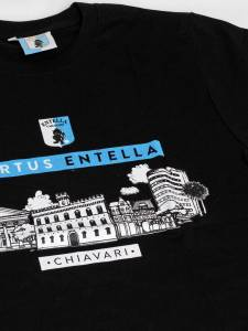 T-shirt Skyline nero