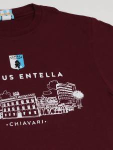 T-shirt Skyline bordeaux