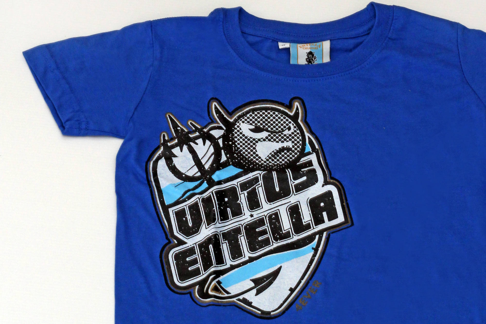 T-shirt JUNIOR Devil bright royal - Virtus Entella Store