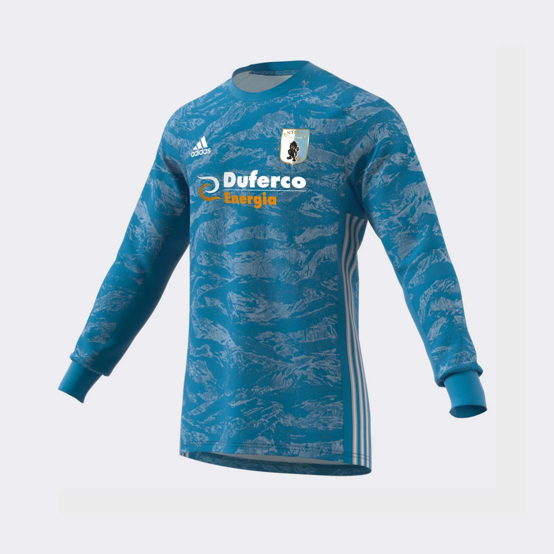 Maglia Ufficiale Serie B 2019/20 Adidas Portiere Away – Azzurra - Virtus Entella Store