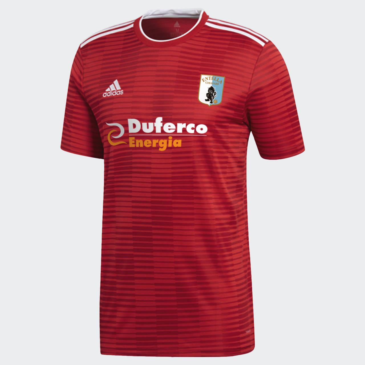 MAGLIA ufficiale Serie B stag. 201920 Adidas rossa (terza divisa) | Virtus Entella Store