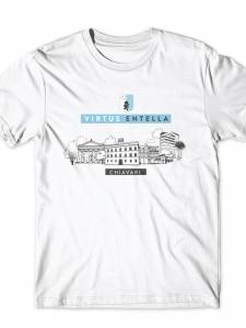 T-shirt Skyline bianca
