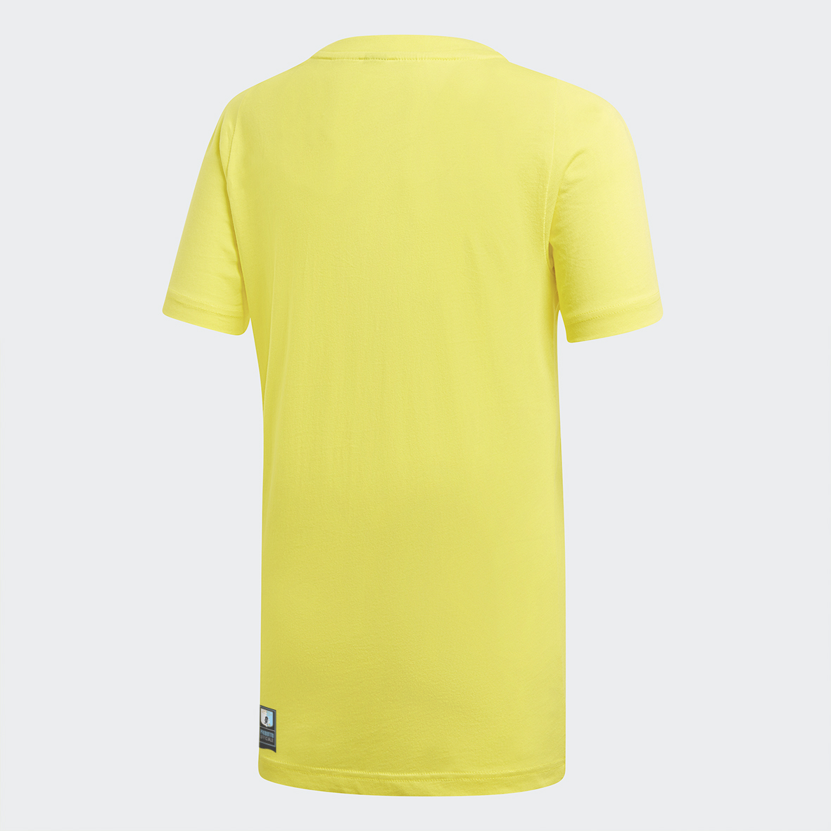 T-Shirt gialla con logo Adidas - Virtus Entella Store