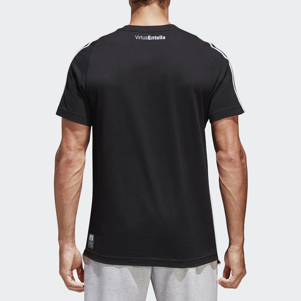 T-Shirt Adidas Nero 3S - Virtus Entella Store